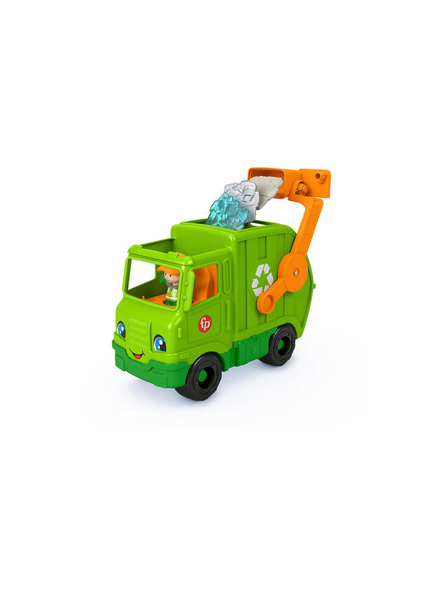 Little People Recycling Truck