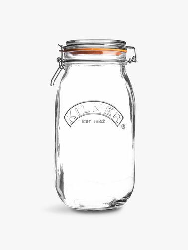 Clip Top Round Jar 2l