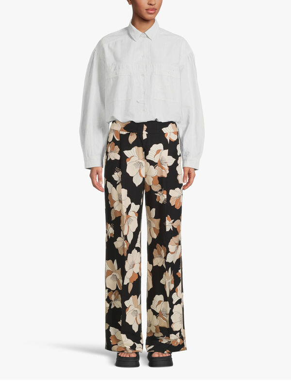Farnese Floral Wide Leg Trouser