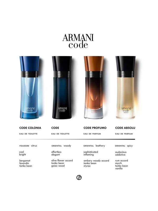 Armani Code Eau de Toilette 125 ml