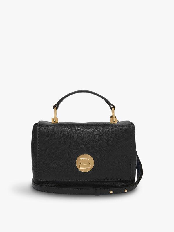 Liya Small Suede Shoulder Bag