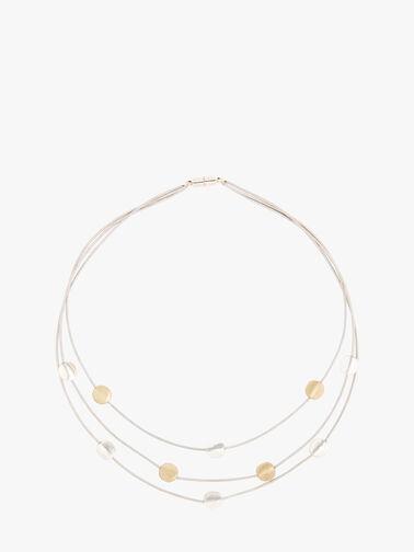 Ipsos 3 Strand Short Necklace