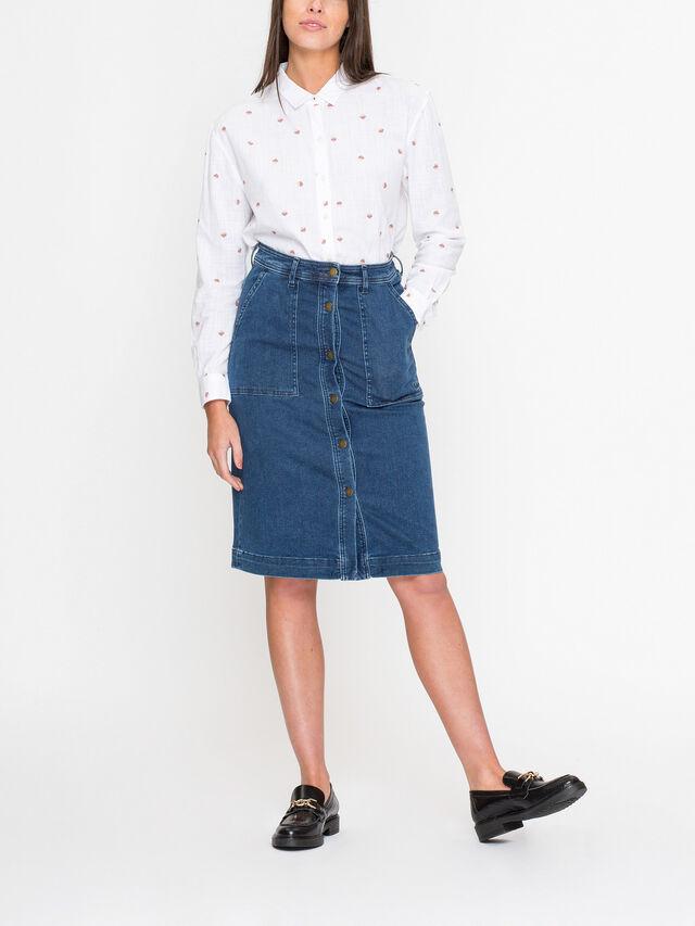 Essential Maddison Denim Skirt