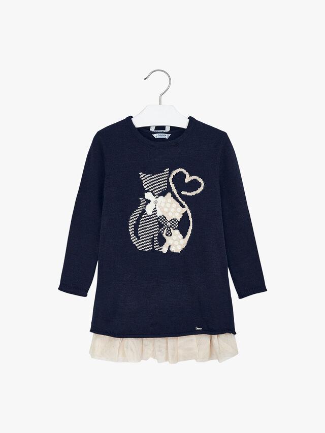 Knit Cat Dress