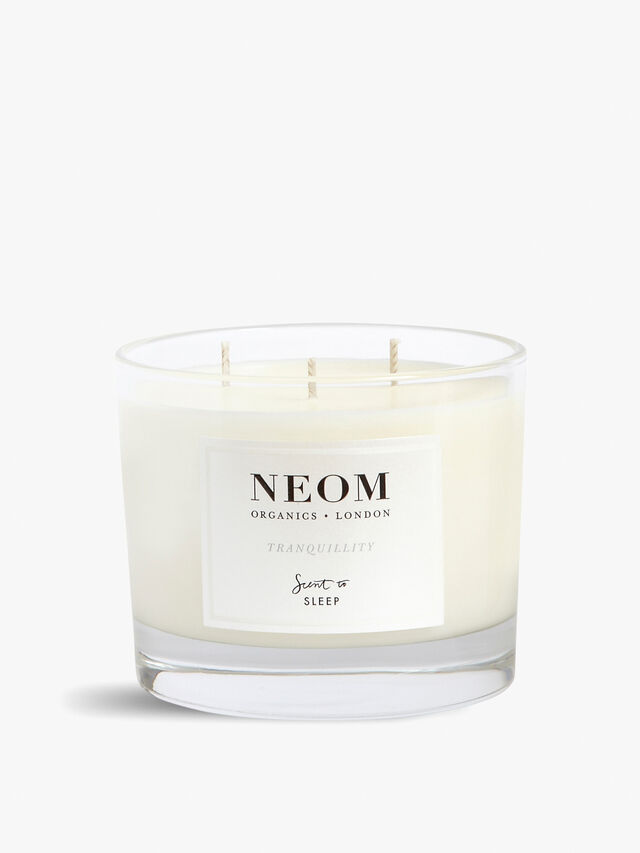 Tranquillity Sleep 3 Wick Scented Candle