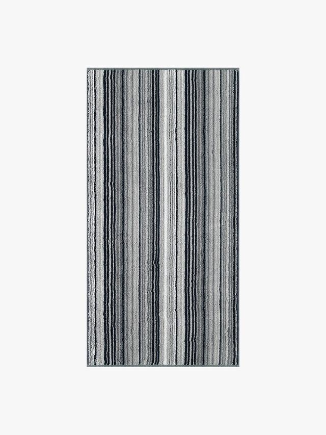 Two Tone Stripe Face Mitt