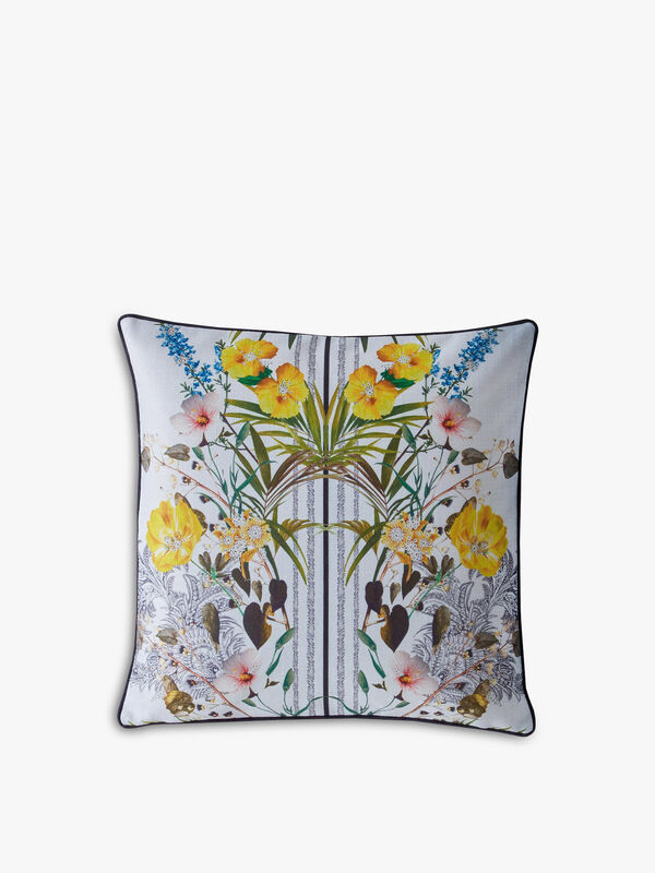 Royal Palm Filed Cushion