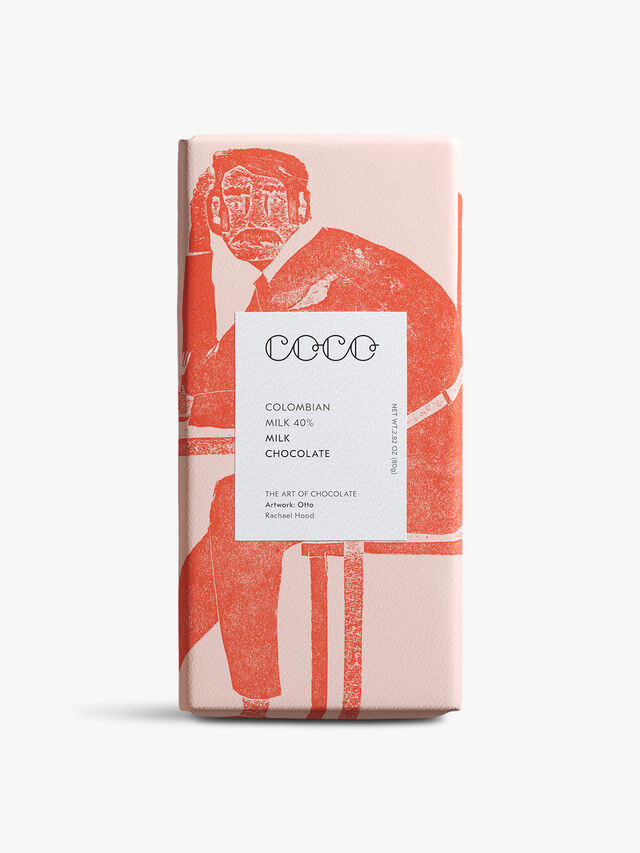 Columbian Milk 40% Bar