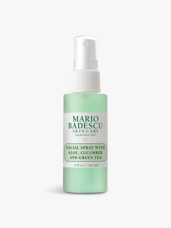 Facial Spray with Aloe Cucumber & Green Tea 59ml