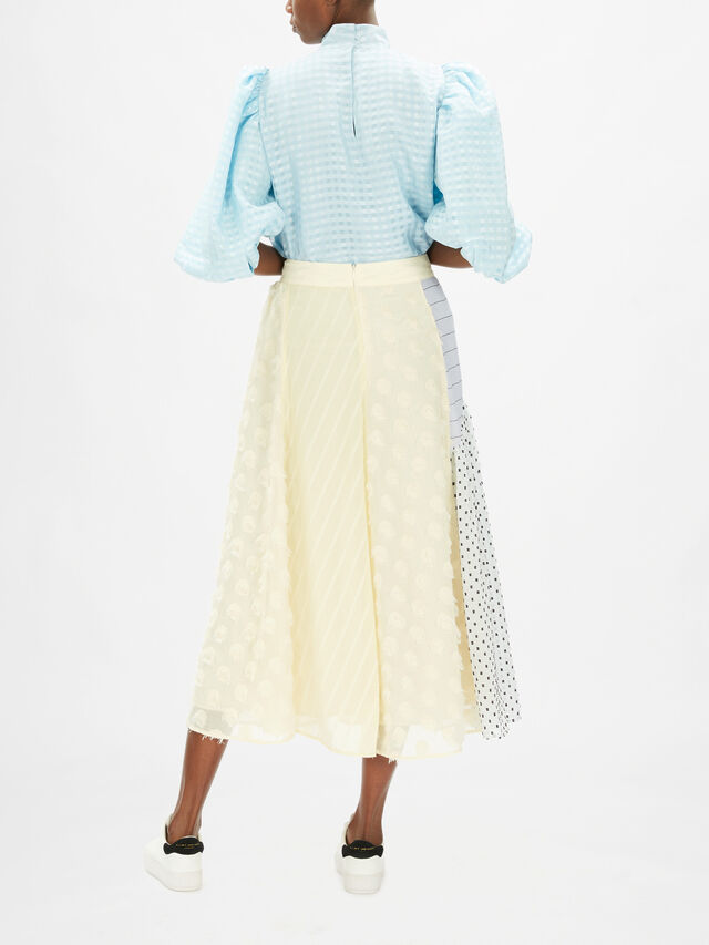 Maribelle Mixed Texture Skirt