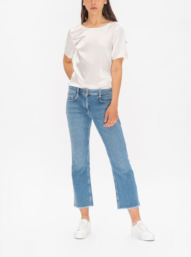 Moravia Relaxed Flared Jeans
