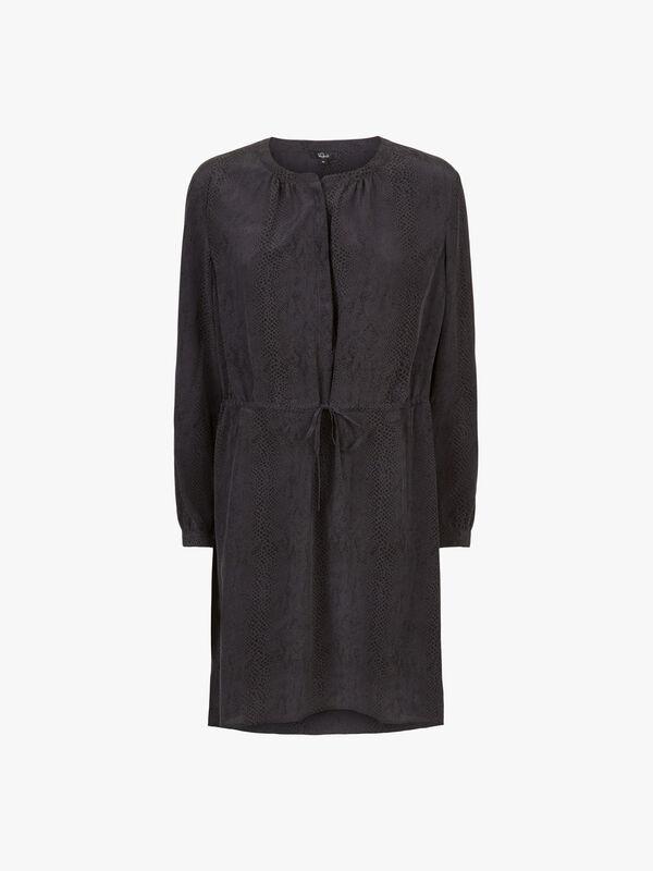 Hana Long Sleeve Short Dress
