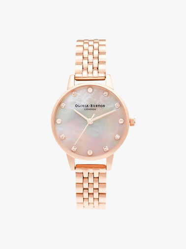 Midi Mother Of Pearl Watch