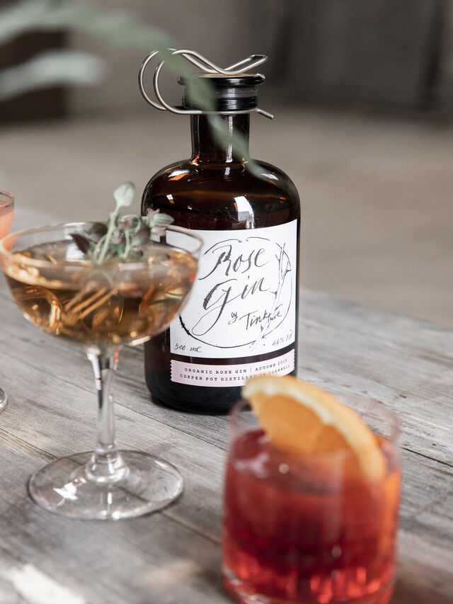 Tinkture Cornish Rose Gin 5cl
