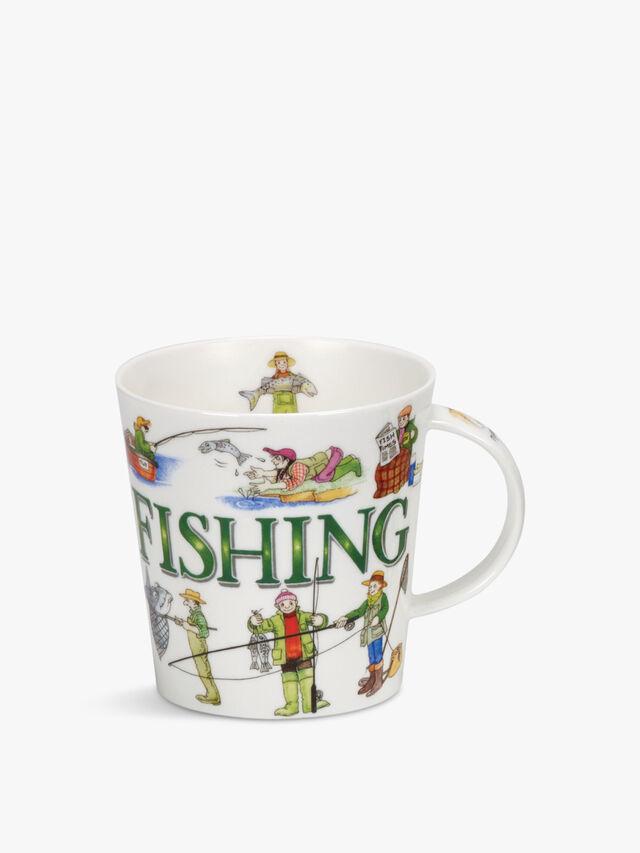Cairngorm Sporting Antics Fishing Mug