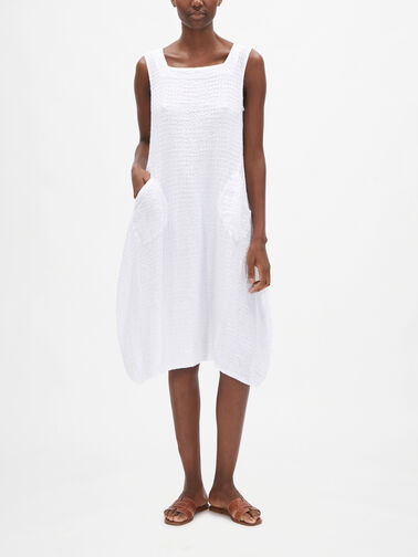 Slvl-Puckered-Linen-Dress-w-Diagonal-Side-Pockets-91522-L171