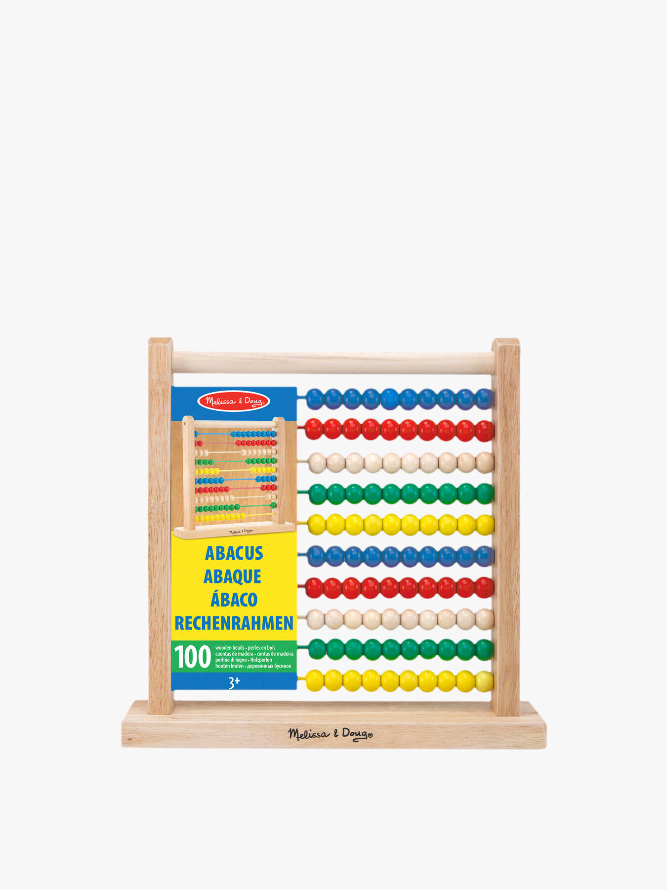 Melissa & Doug Wooden Abacus Great gift idea Free delivery