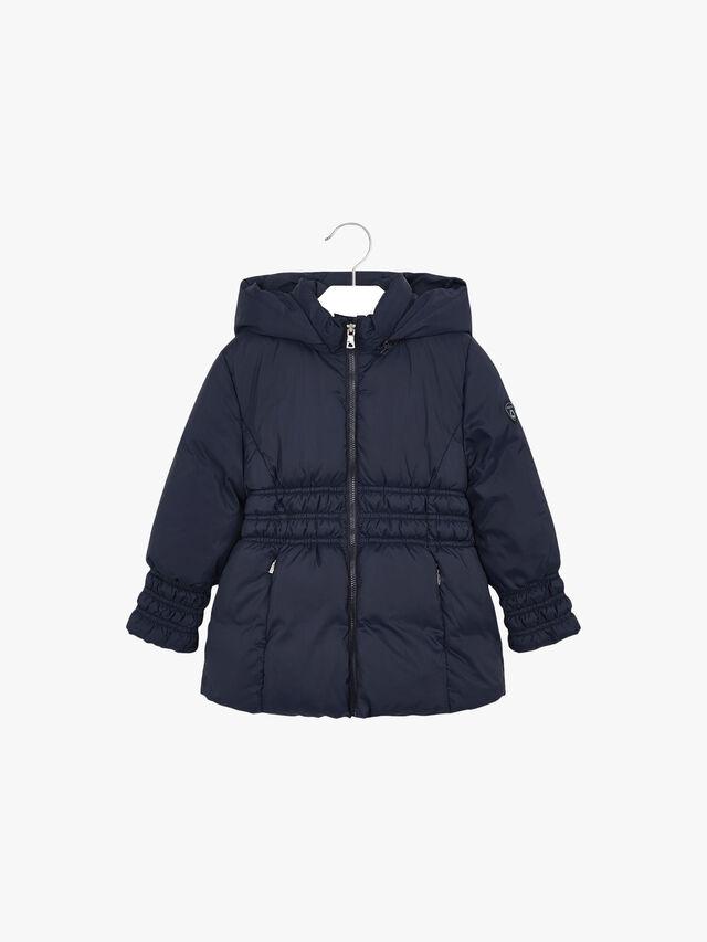 Puffa Coat With Waist
