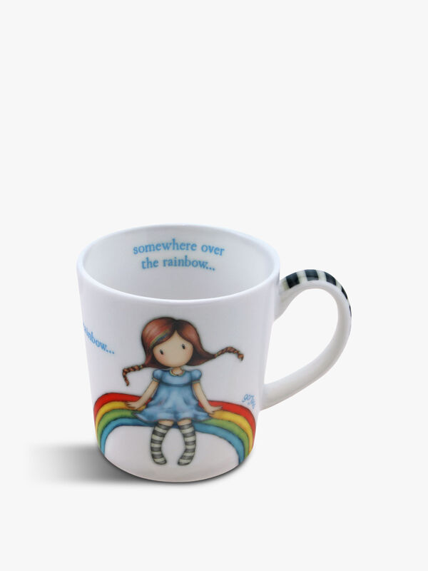 Gorjuss Small Mug Rainbow Heaven