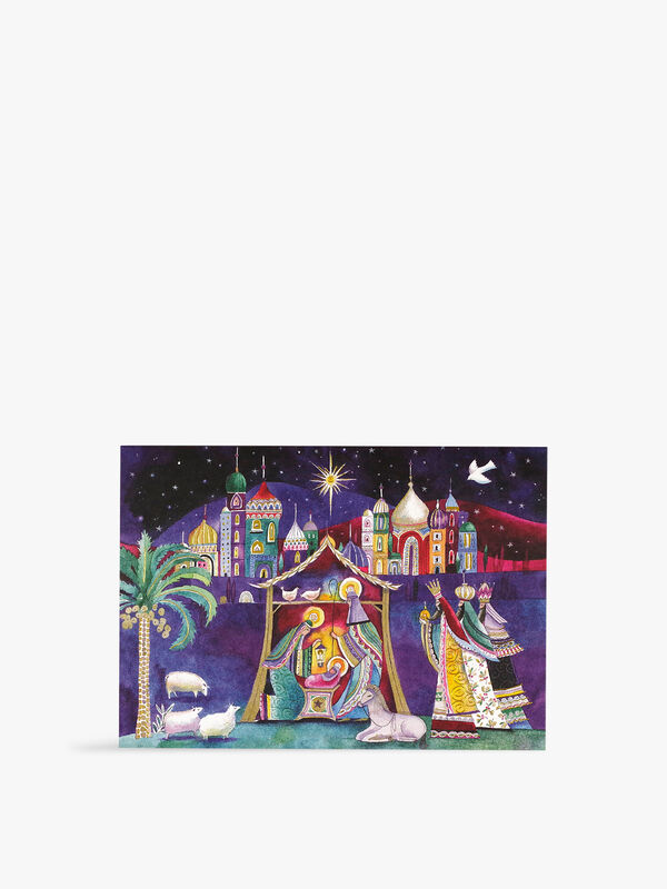 Deluxe Nativity Cards Pack of 6