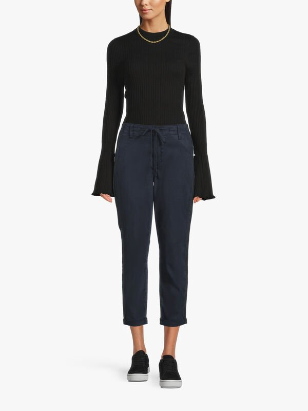 Christy Pant with Grosgrain Side Stripe
