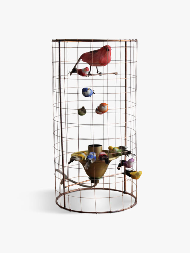 Mini Bird Table Lamp