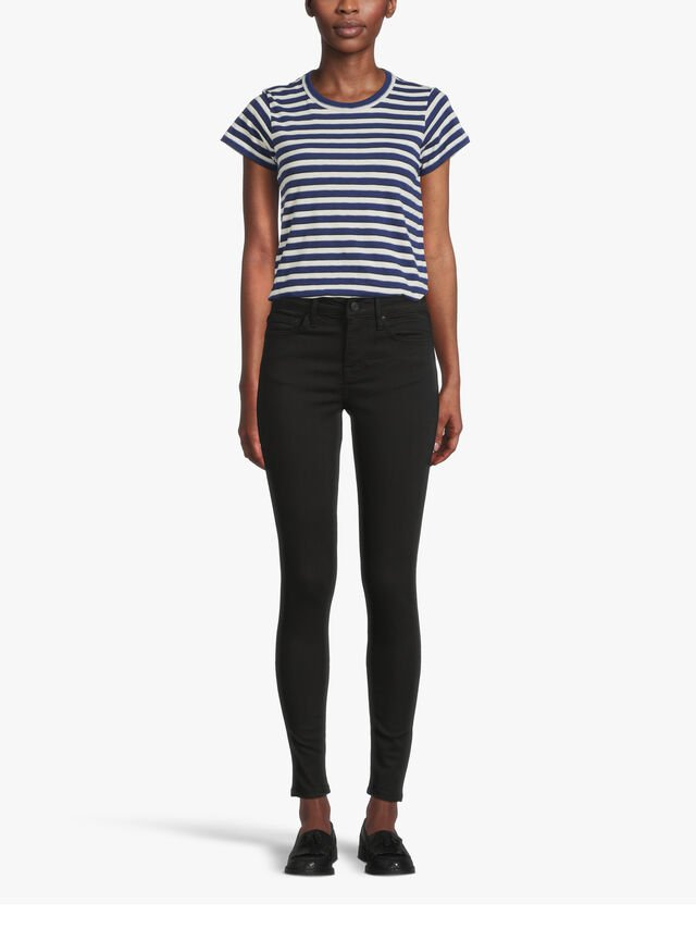LUX Mid Rise Skinny Jeans