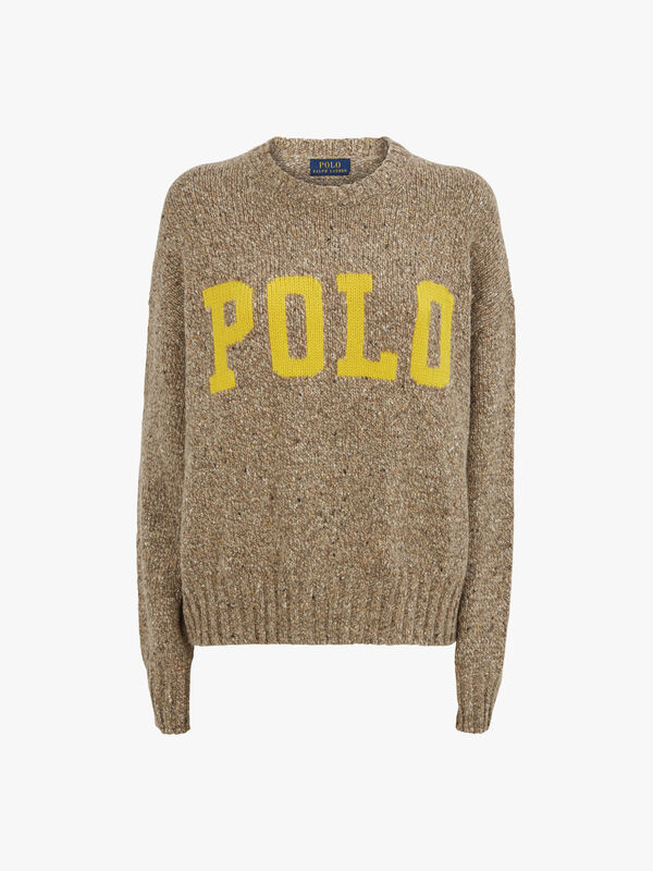 Polo Cotton Wool Donegal Knit