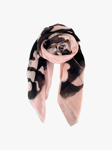 Gold Dee Abstract Scarf