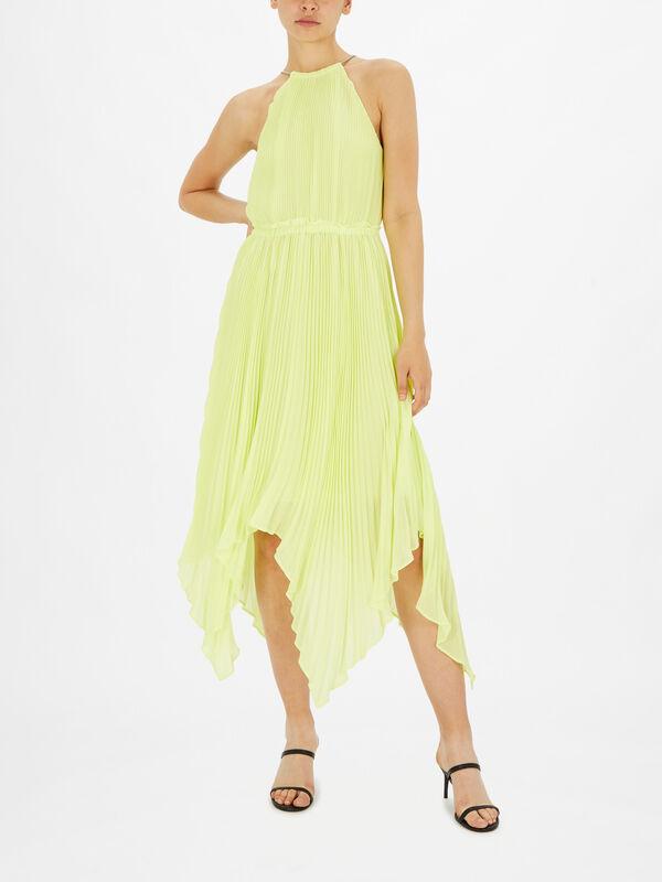 Halter Chain Maxi Dress