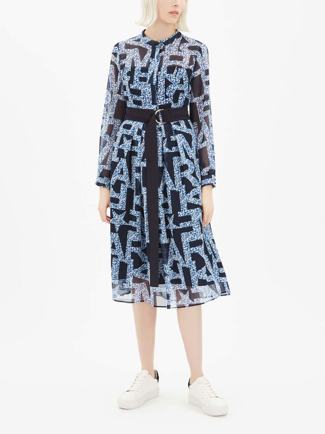 Cloruro Belted Wrap Dress