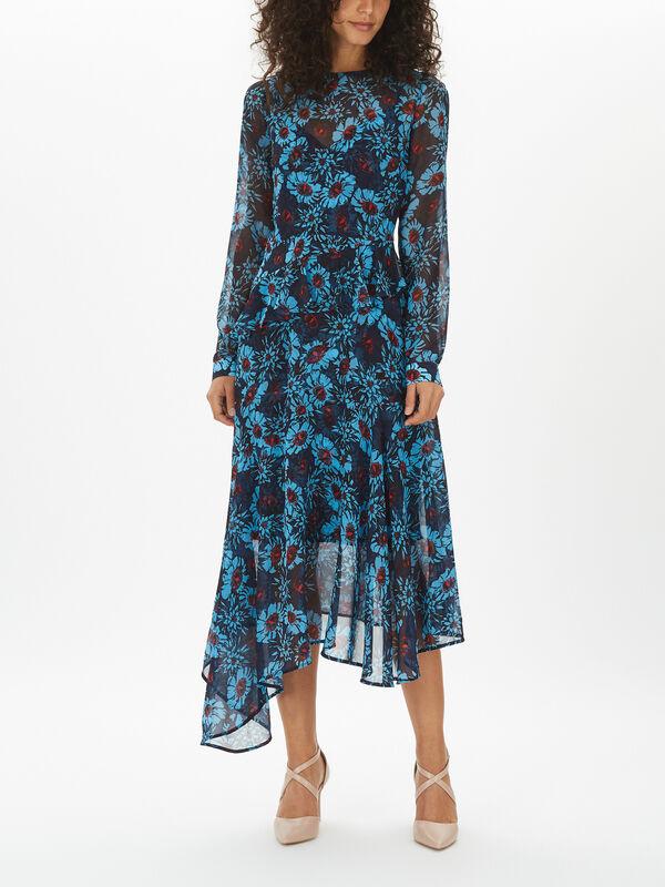 Rosie Winterbloom Georgette Dress