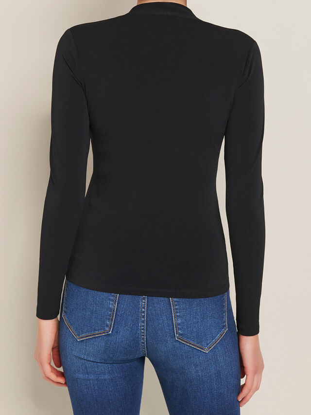 Vanessa V Neck Long Sleeve Top