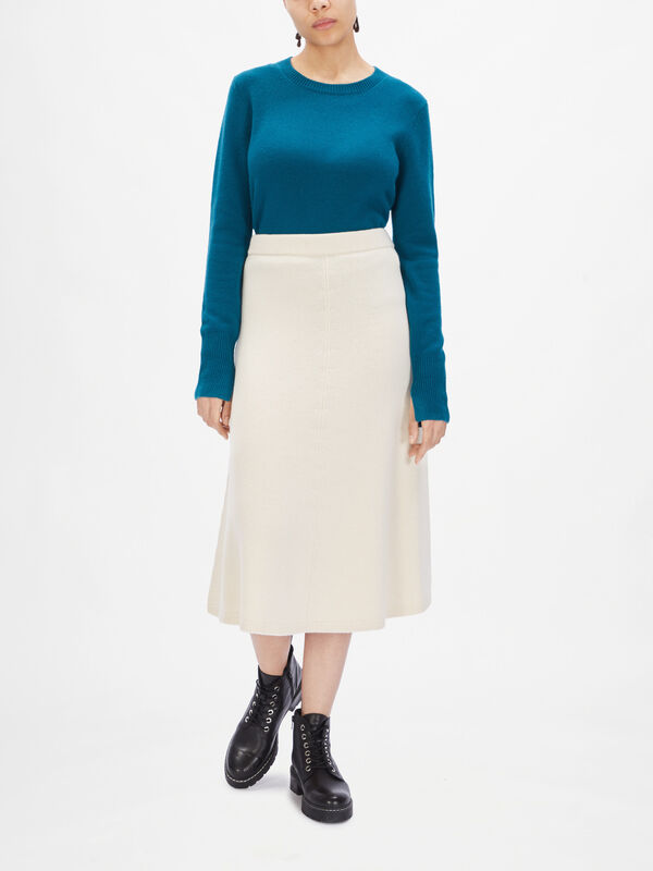 Soft Wool Skirt