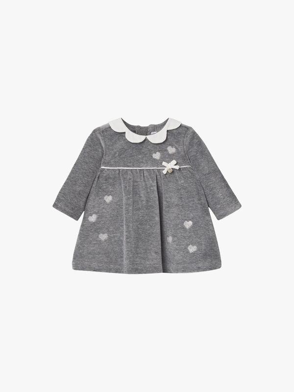Velour Star Dress