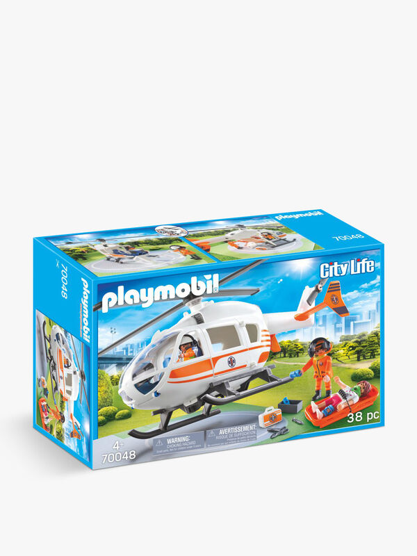 City Life Rescue Helicopter