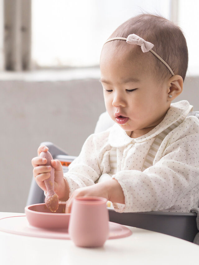 First Food Set Blush Tiny