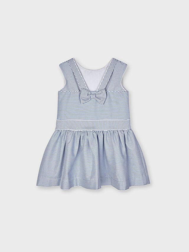 Drop Waist Stripe Dress