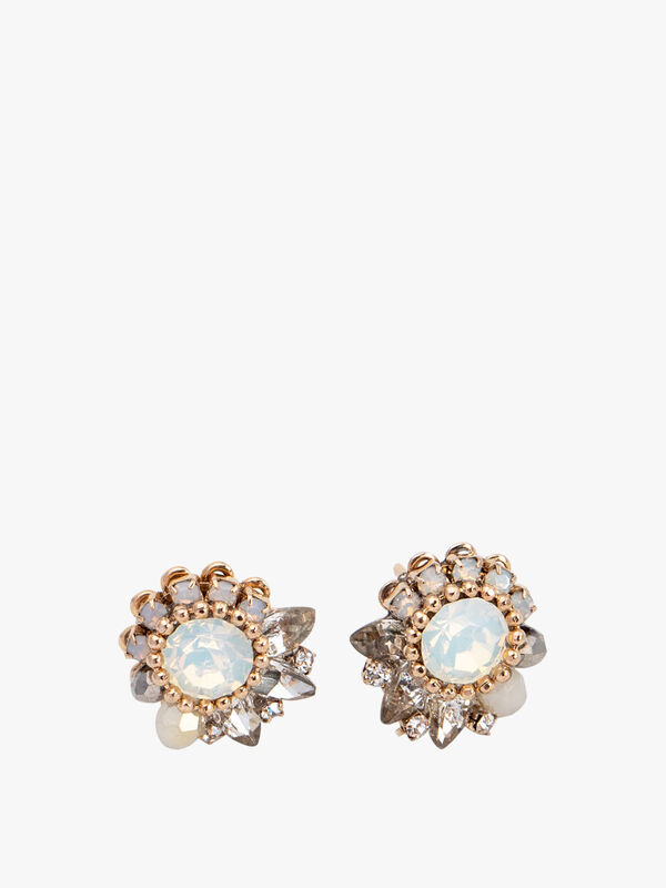 Amelia Crystal Post Earrings