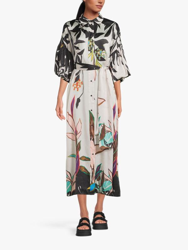 Purulia Floral Printed Dress