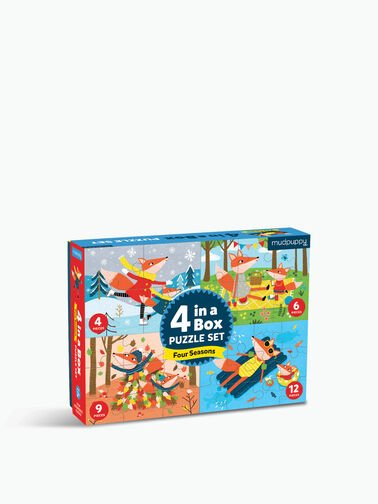 4 In A Box Four Seasons Puzzle