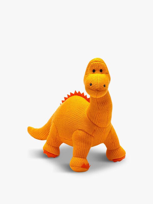 Knitted Diplodocus Medium Toy