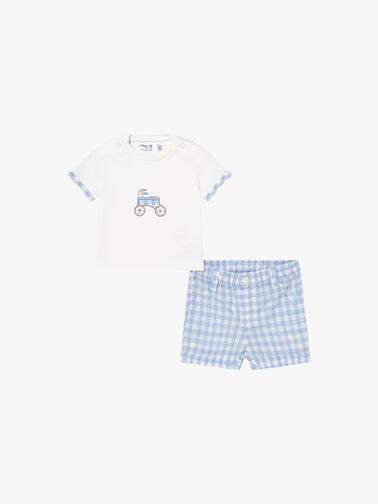 Check-Shorts-and-T-shirt-Set-1205-SS21