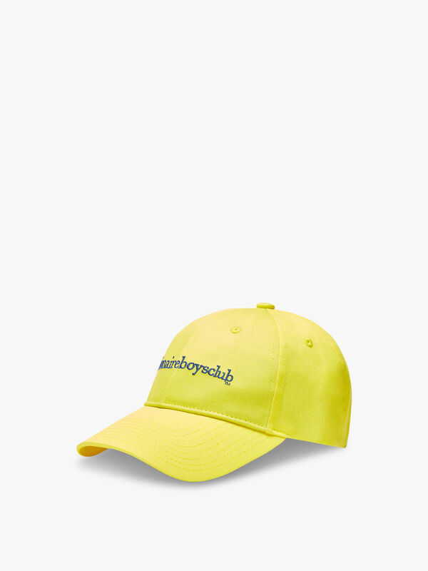 Embroidered Curve Visor Cap
