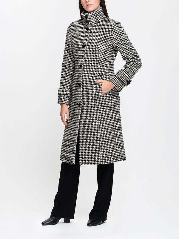 Dalburno Houndstooth Coat