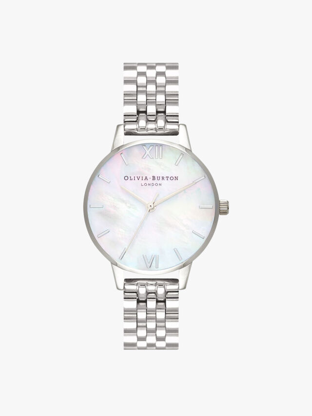 Sunlight Florals Mesh Watch