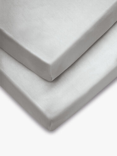 Cot Fitted Sheets - 2 Pack
