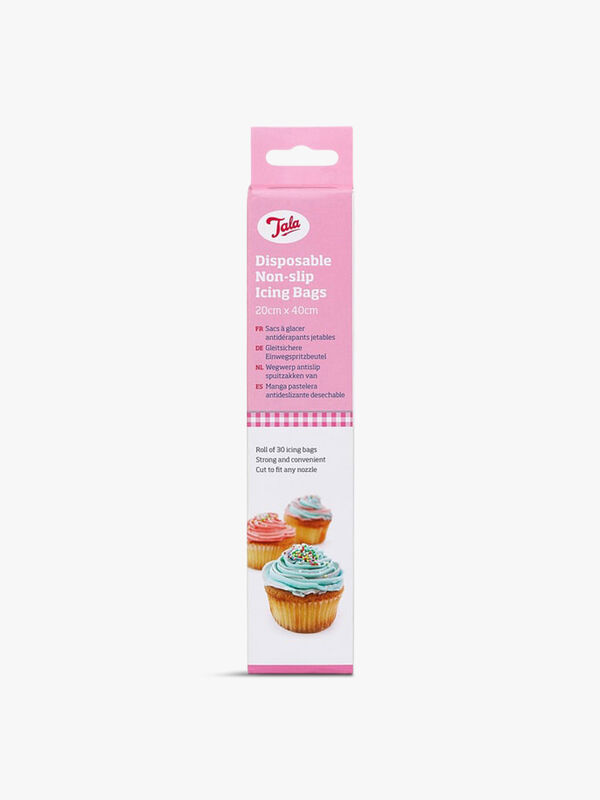 Disposable Non Slip Icing Bags Roll of 30