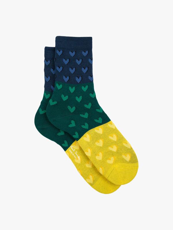 Priyanka Heart Sock