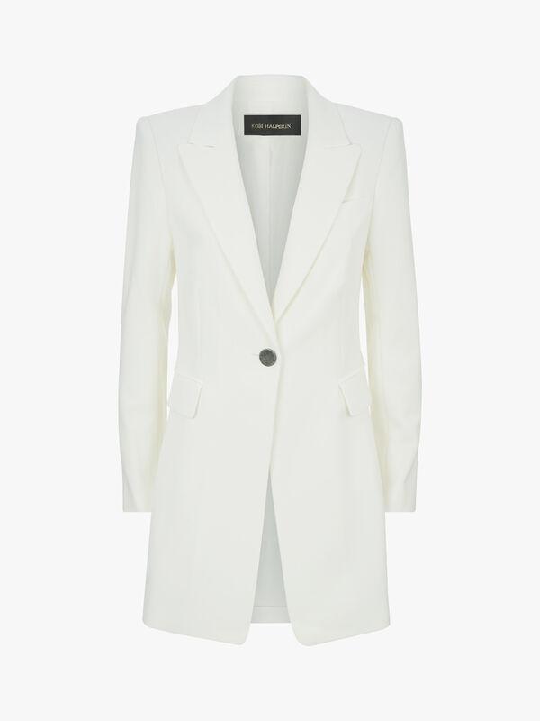Julianne Sculpted Viscose Jacket